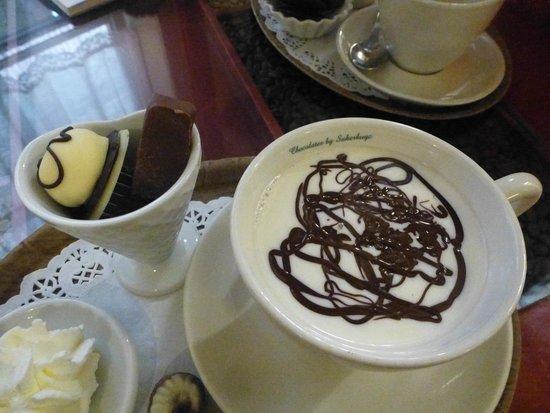 Tea-room De Proeverie: le sompteux chocolat chaud à préparer par vos soins et votre gout