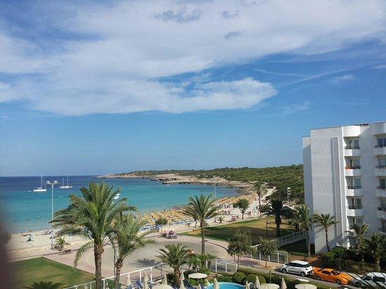 Hipotels Hipocampo Playa Hotel: Unsere Aussicht von Zimmer 315
