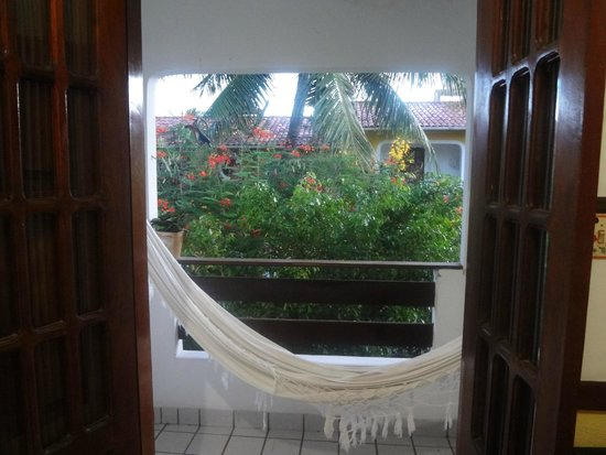 Pousada AguaMarinha: Varanda do quarto