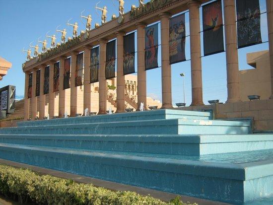Cleopatra Palace Hotel: piramide