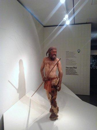 Musée archéologique du Tyrol du Sud : Life like model