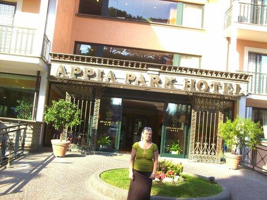 Appia Park Hotel: fachada