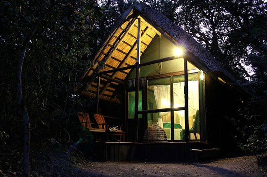 Kosi Forest Lodge: room from outside