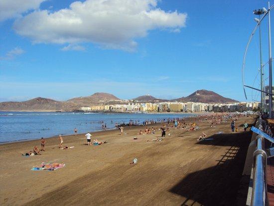 Playa de Las Canteras: Vista general de la playa