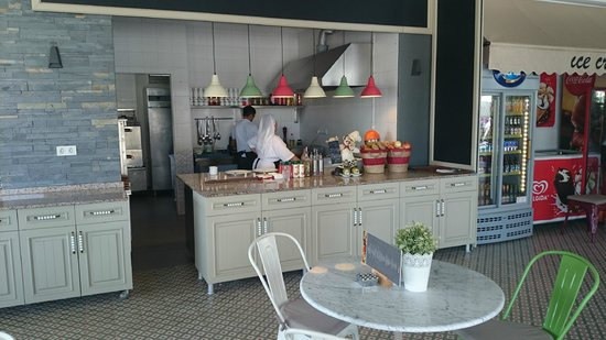 Samira Exclusive Hotel & Apartments : Kitchen at bar area new for 2014