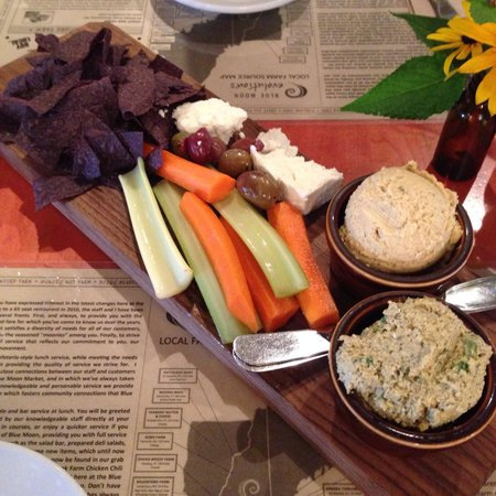 Blue Moon Evolution: Hummus Board