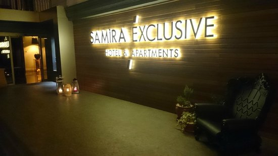 Samira Exclusive Hotel & Apartments: Side entrance to hotel new for 2014