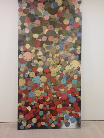 Saatchi Gallery : colori