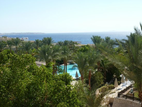 The Grand Hotel Sharm El Sheikh: View from Sharm restaurant