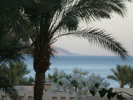 The Grand Hotel Sharm El Sheikh: View from our balcony