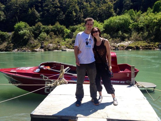 Buller Canyon Jet: Great fun on a great honeymoon
