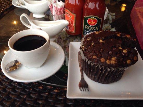 Luang Prabang Bakery : big muffin