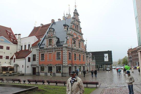 Riga Town Hall Square: Утонченность строения