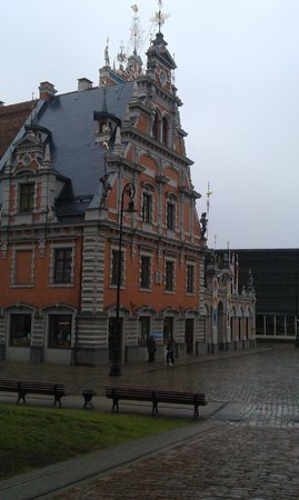 Riga Town Hall Square: Оригинальная архитектура