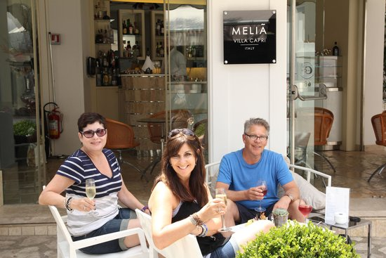 Melia Villa Capri Hotel & Spa : Welcome Drinks