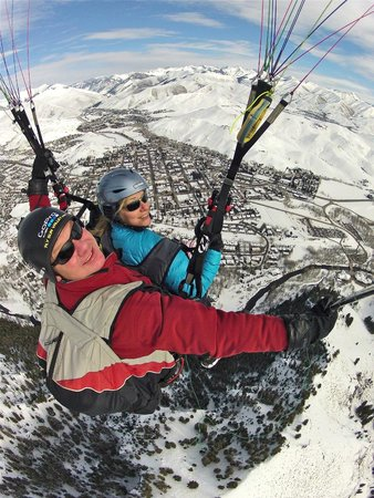 Fly Sun Valley: Winter flights are awesome too!