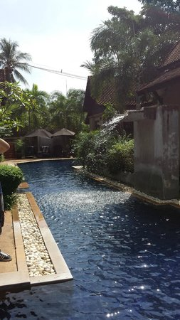 Montra Hotel: Special pool!
