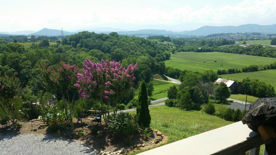 Braeside Inn: View from The Back Porch