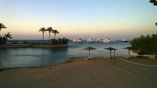 Hurghada Marriott Beach Resort : Una parte della spiaggia