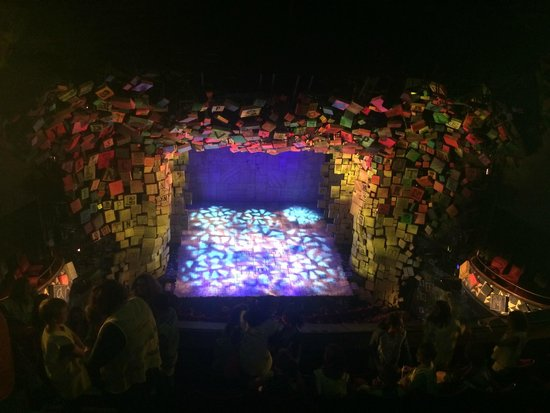Matilda the Musical : We loved the stage!