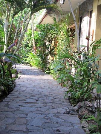 Sandpiper Hotel : Walkway