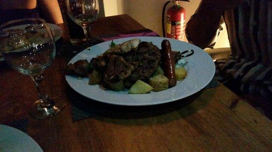 Karma Restaurant: the meatlovers plate