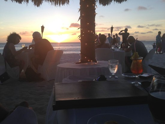 Passions on the Beach: Best part of the meal.