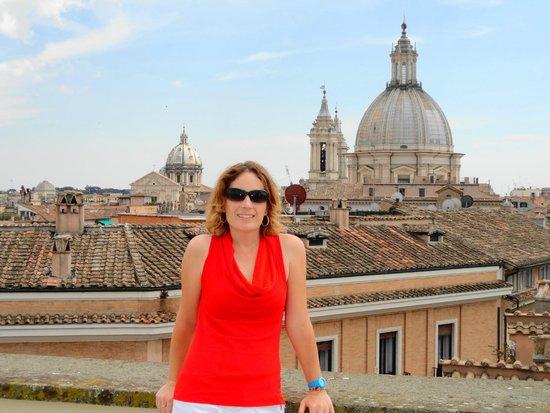Antica Dimora delle Cinque Lune : View from terrace
