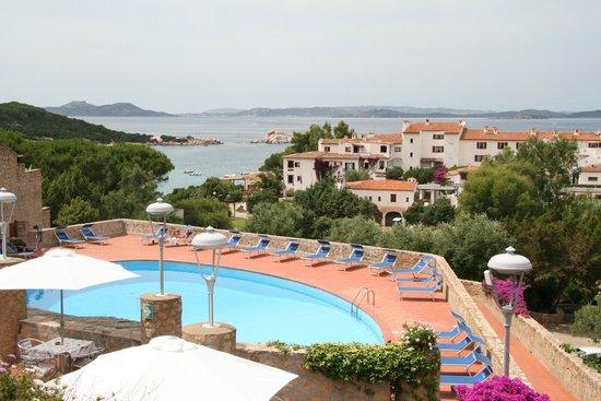 Hotel Olimpia : Вид с балкона