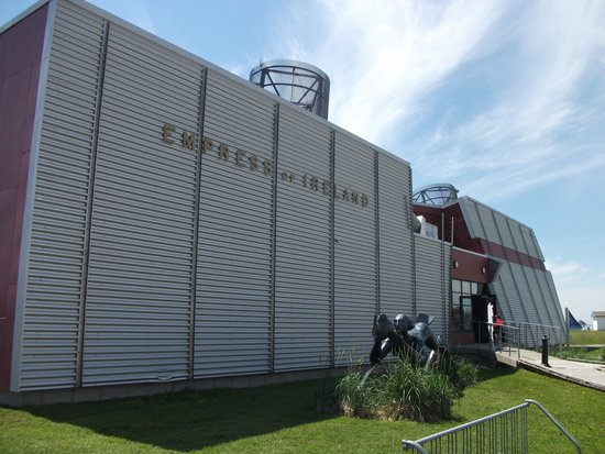 Site historique maritime de la Pointe-au-Pere : L'exposition Empress of Ireland, naufrage du 29 mai 1914