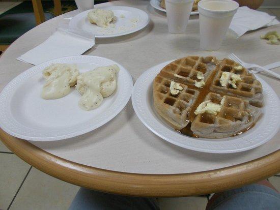 La Quinta Inn Richmond : Yummy breakfast