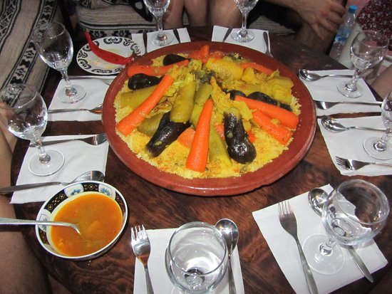 Dar Dada Mouss: A traditional home cooked tagine dinner.