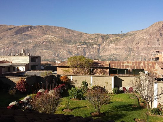Posada Las Tres Marias: Vista desde la habitacion Quilla