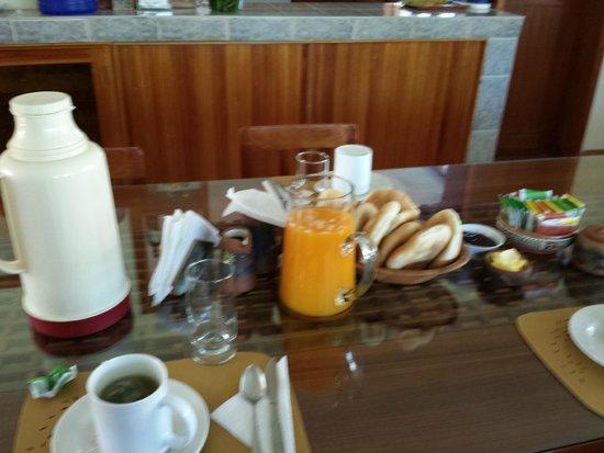 Posada Las Tres Marias: Desayuno continental