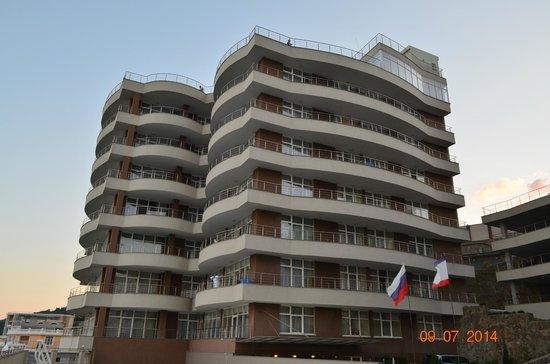 Livadiyskiy SPA & Hotel : Наш корпус.
