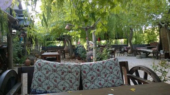 Kas Doga Park : breakfast and restaurant area