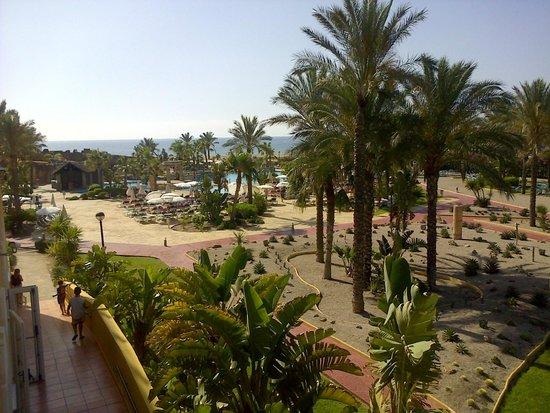 Zimbali Playa Spa Hotel: Vista desde nuestra habitación