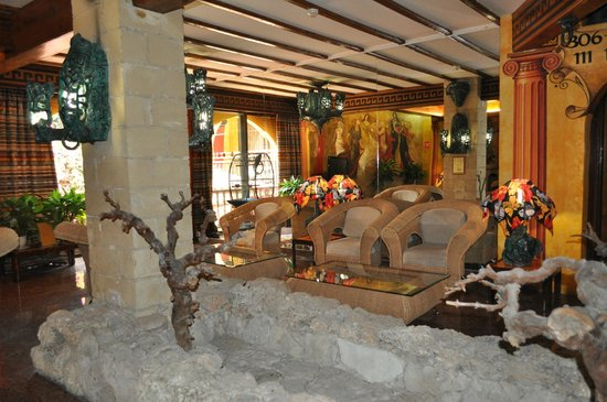 Roman Boutique Hotel : reception
