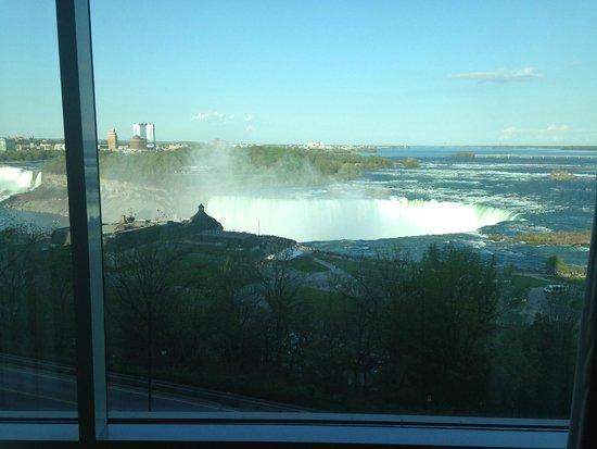 Niagara Falls Marriott Fallsview Hotel & Spa: La vue