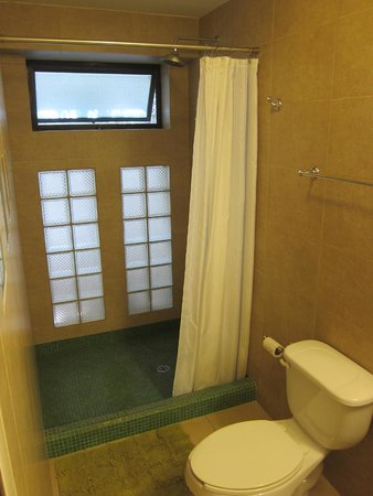 Art Deco Suites : bathroom was spacious and updated