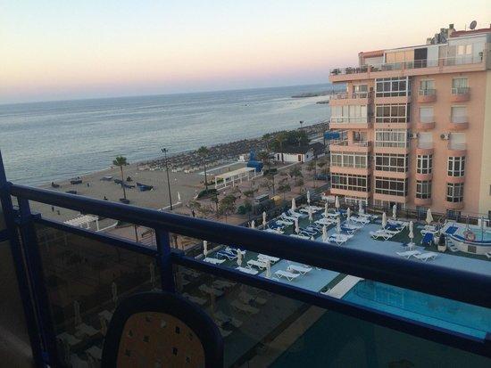 Yaramar Hotel: Vue d'après ma chambre