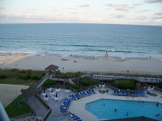 Holiday Inn Resort Wrightsville Beach: Saturday evening