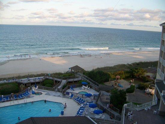 Holiday Inn Resort Wrightsville Beach: Evening on the beach