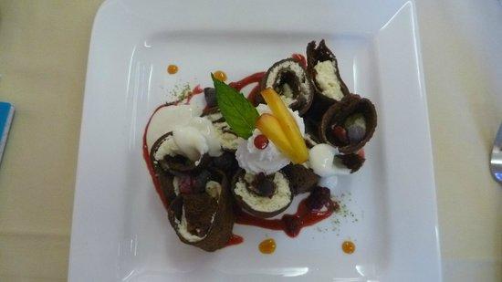 Wellness & Spa Hotel Villa Magdalena: Dineren
