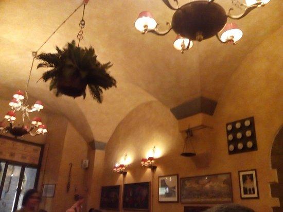 Ristorante Pizzeria Le Antiche Carrozze : El local lleno de gente que no puedo fotigrafiar