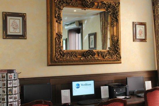 Rixwell Old Riga Palace Hotel: Ресепшн