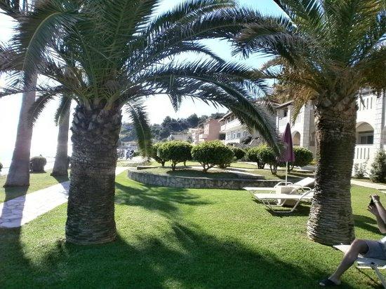 Porto Davia Hotel: The yard
