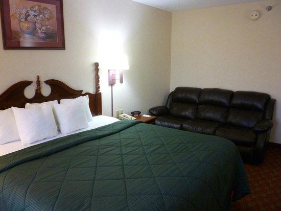 Comfort Inn: Comfy sofa