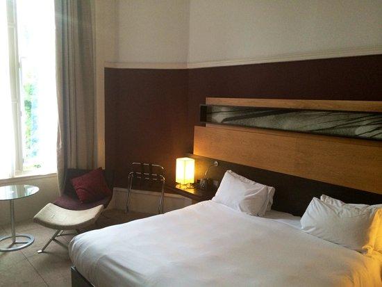 Hilton Edinburgh Grosvenor: 'Upgraded' double room