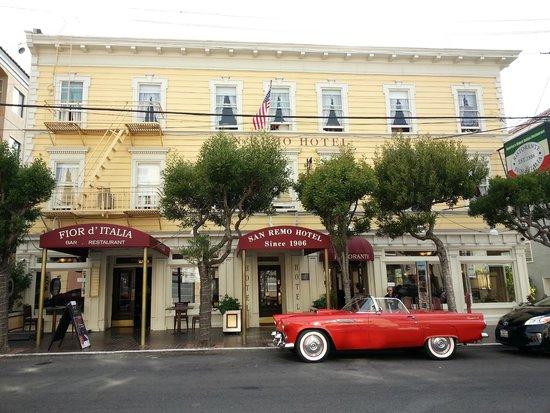 San Remo Hotel : Mason Street view